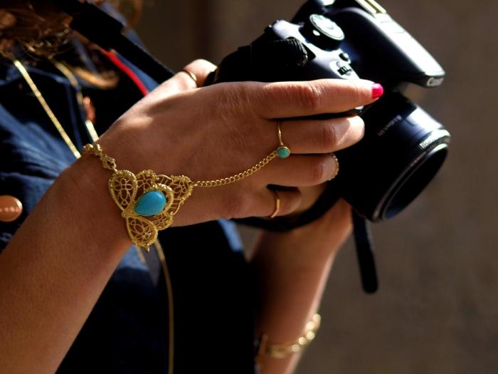 #FCfindyour look h&m trend skirt monki waistcoat details canon