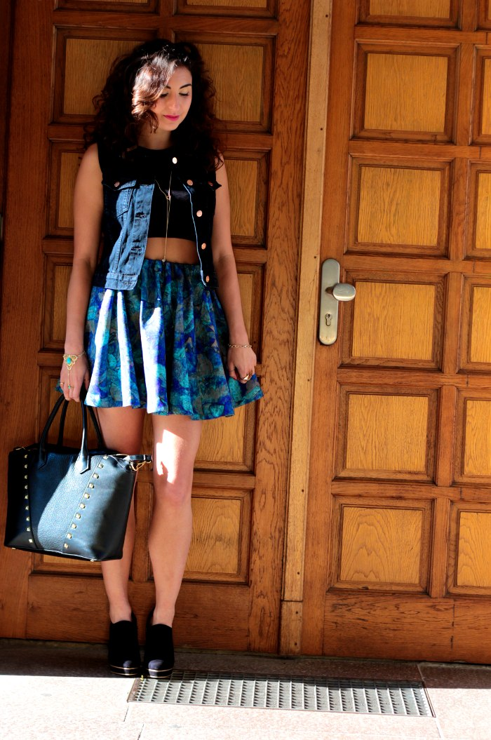 #FCfindyour look h&m trend skirt monki waistcoat complete
