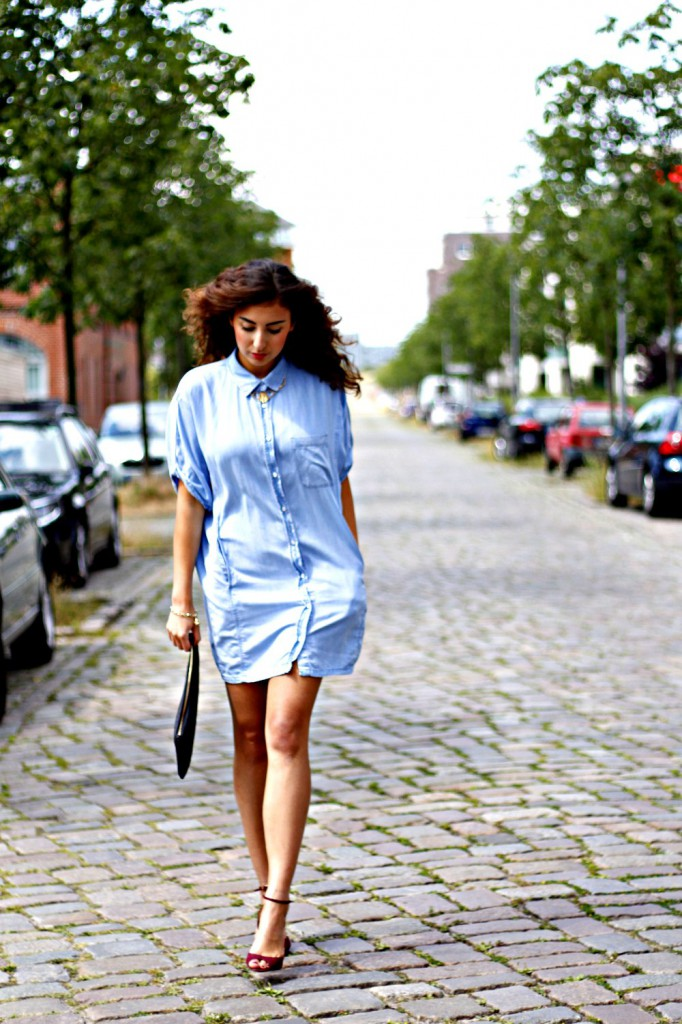 Sonntagskleid = Jeanskleid