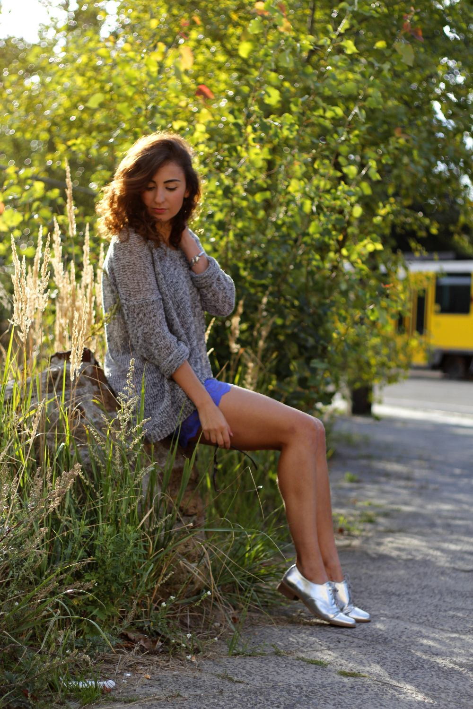 lace mini skirt sitting