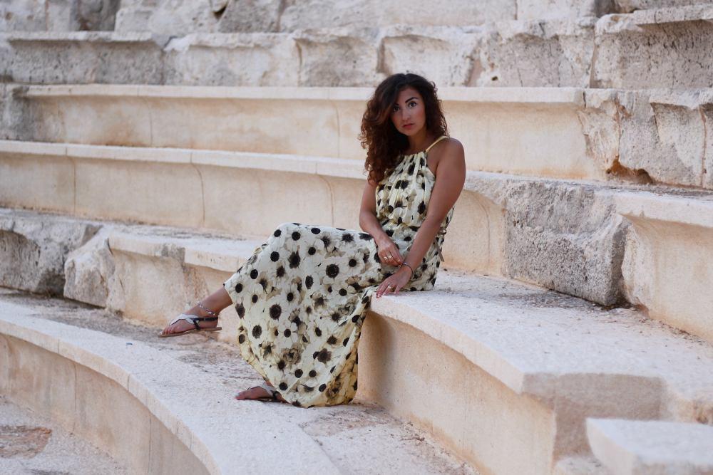 sunflower dress // kas