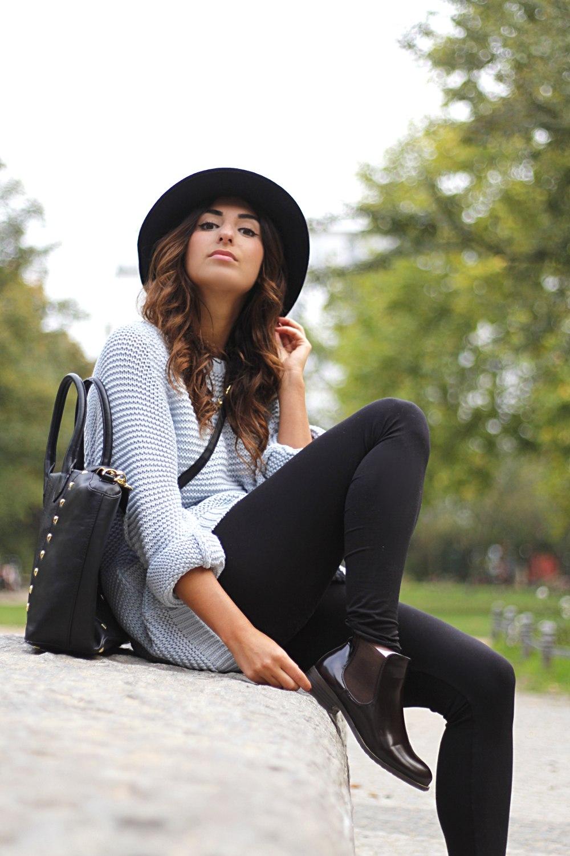 Patent Chelsea Boots Fashion Blog Berlin
