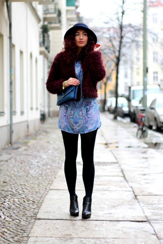winter boho style