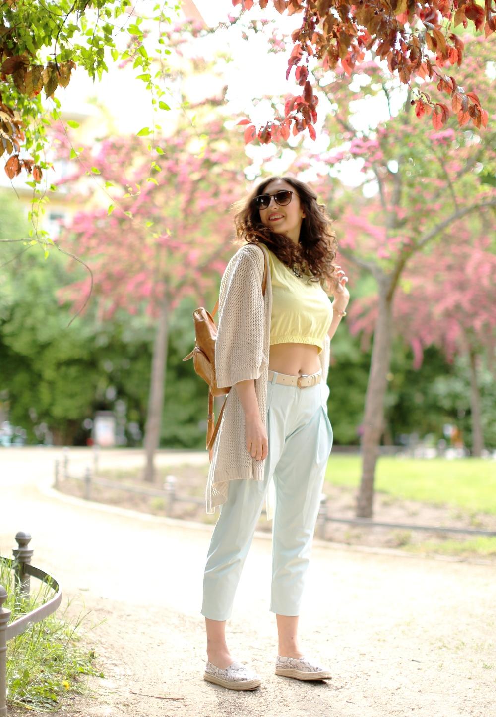 pastel pants