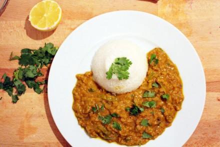 lentils-curry
