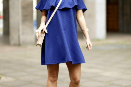 asos off shoulder dress outfit blog hoch komplett2