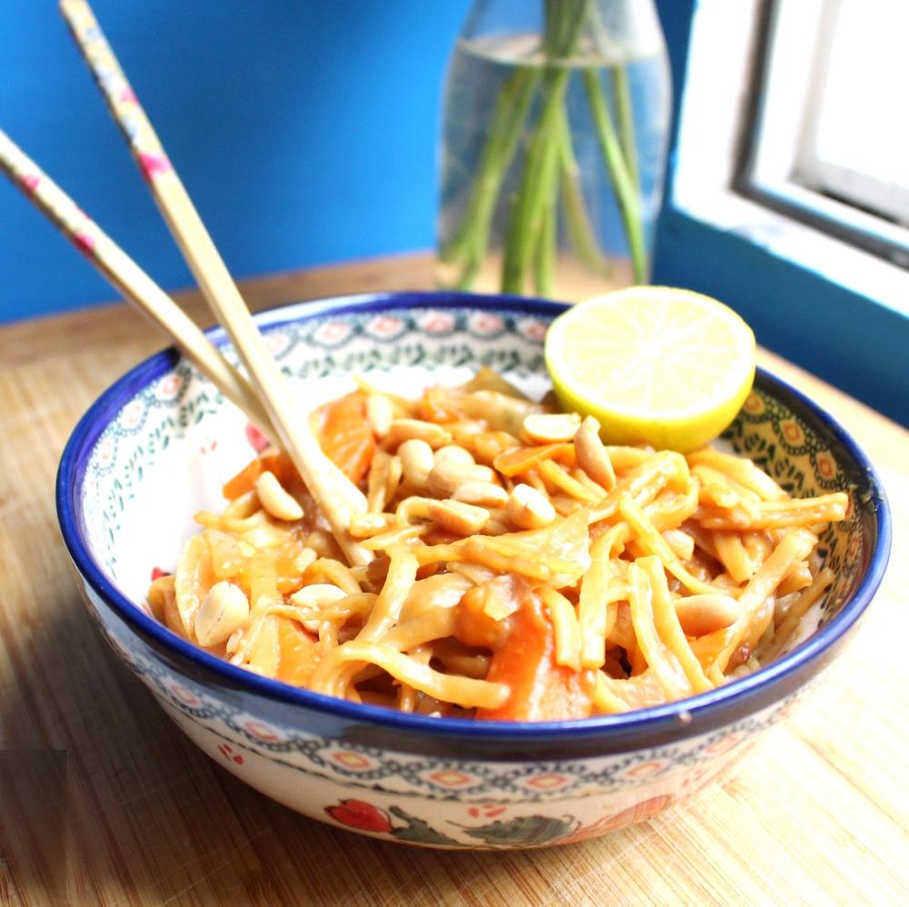 One Pot Pasta Thai Style