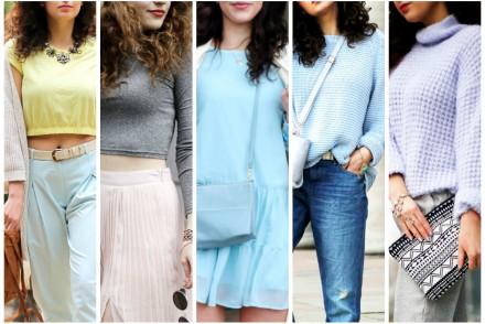 5 ways to wear pastels