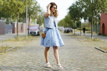 cacharel vintage dress_quer ganz