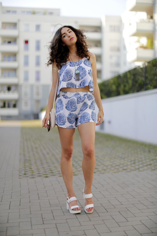 Dresslink Palm Leaf Set CNDircet Asia Set Fashionblog Oasap Coord