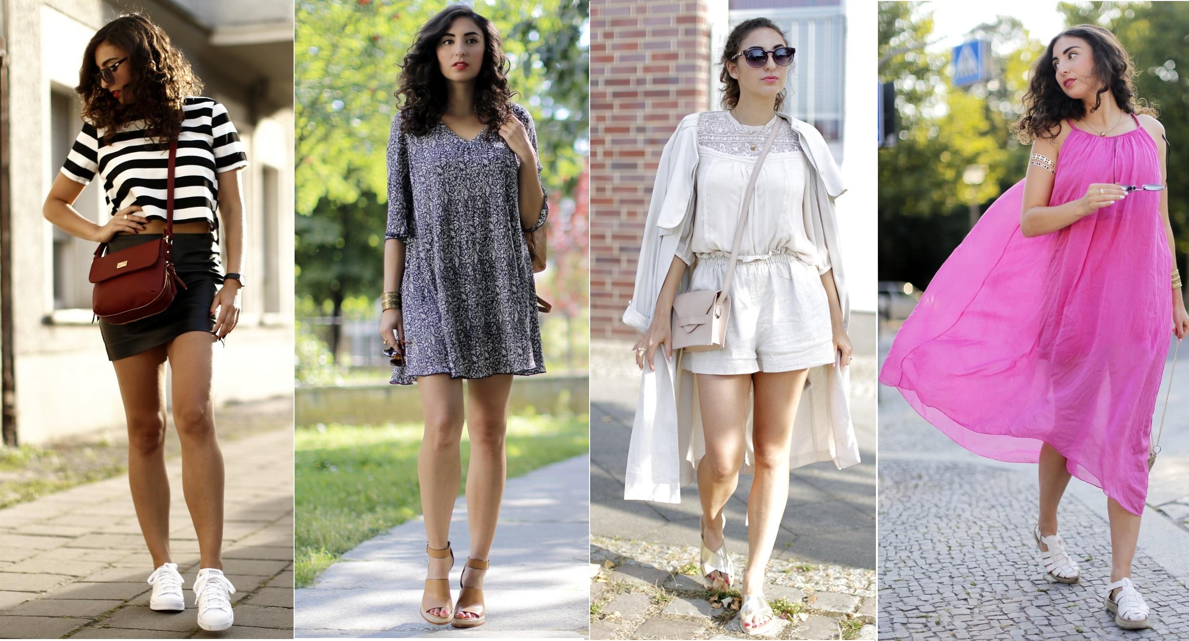 Hot Summer Looks Samieze fashionblogger Modeblog berlin Outfit review lookbook