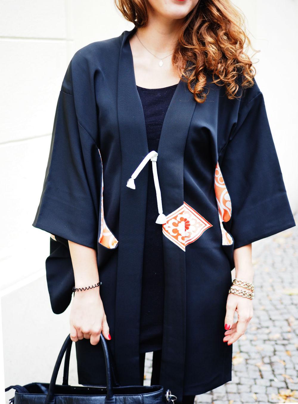 black vintage kimono_details hoch