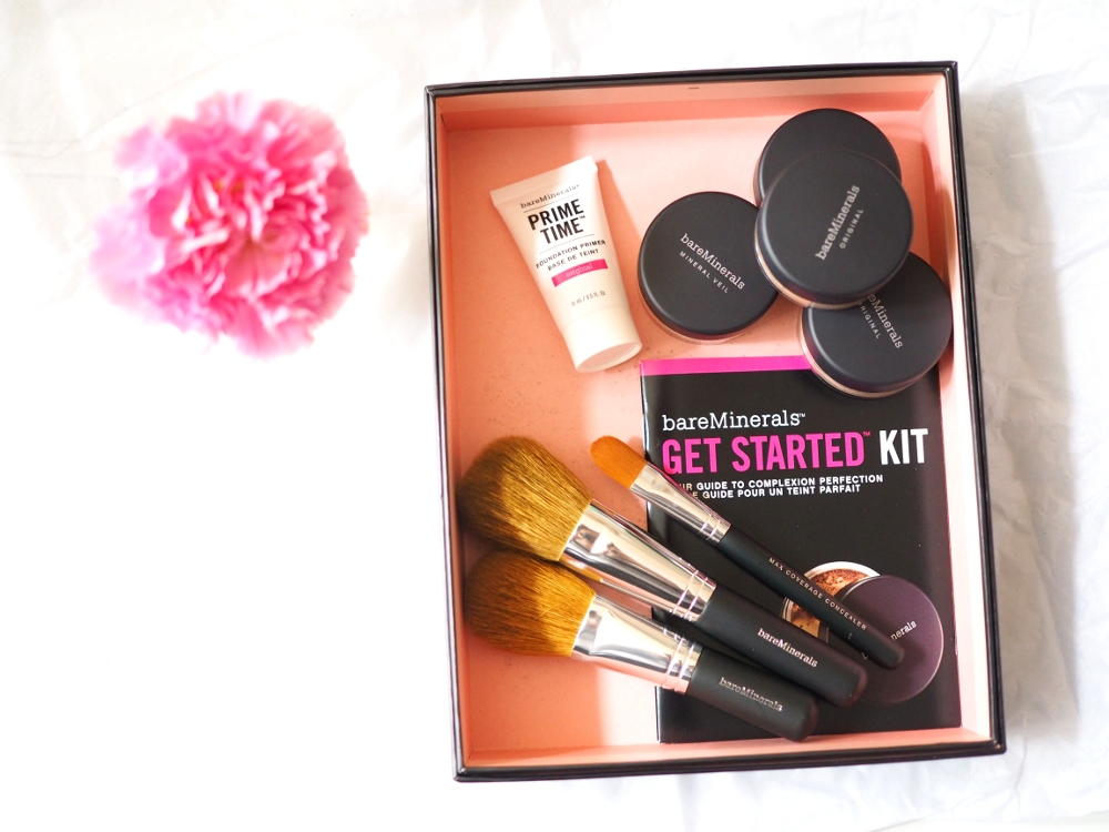 Bare Minerals for Dry and Oily Skin Starter Kit Bare Minerals Blemish Remedy Bare Skin review erfahrungsbericht test get started kit