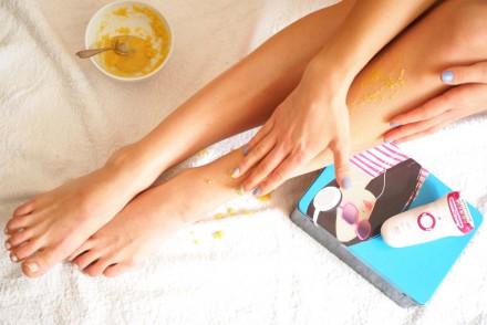 Beautiful Legs in Winter Braun Silk Epil Tipps Epilierer Giveaway