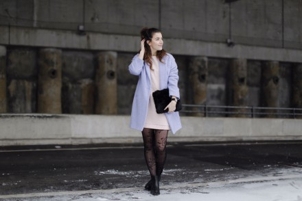 monki dress fashion week outfit pantone 2016 serenity rose quartz winter pastels ganz quer 2