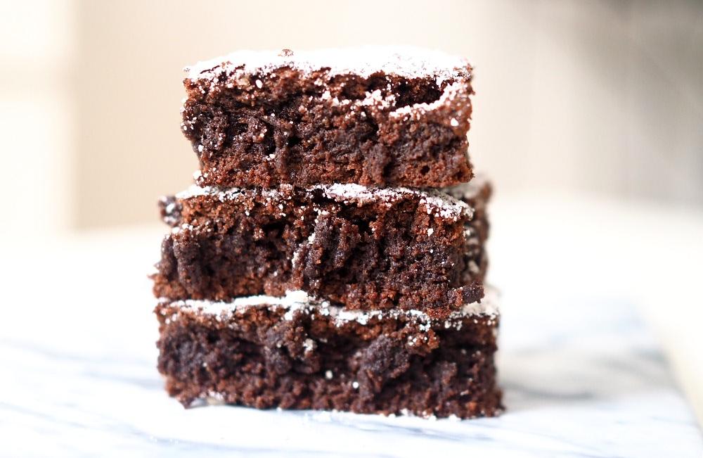 nutella brownies 3 ingredients chocolate cake recipe nutella kuchen rezept foodblog samieze