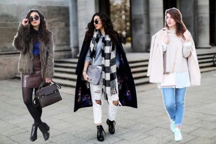 Winter Looks Streetstyles Mom Jeans Topshop Samieze Blogger Modeblog Fashionblogger Fur Jacket from Zara Fake Fur Vest Oasis Sleeveless Coat Leather Leggings New Look Mode Inspiration Germany Berlin Sneaker Looks Adidas Superstars