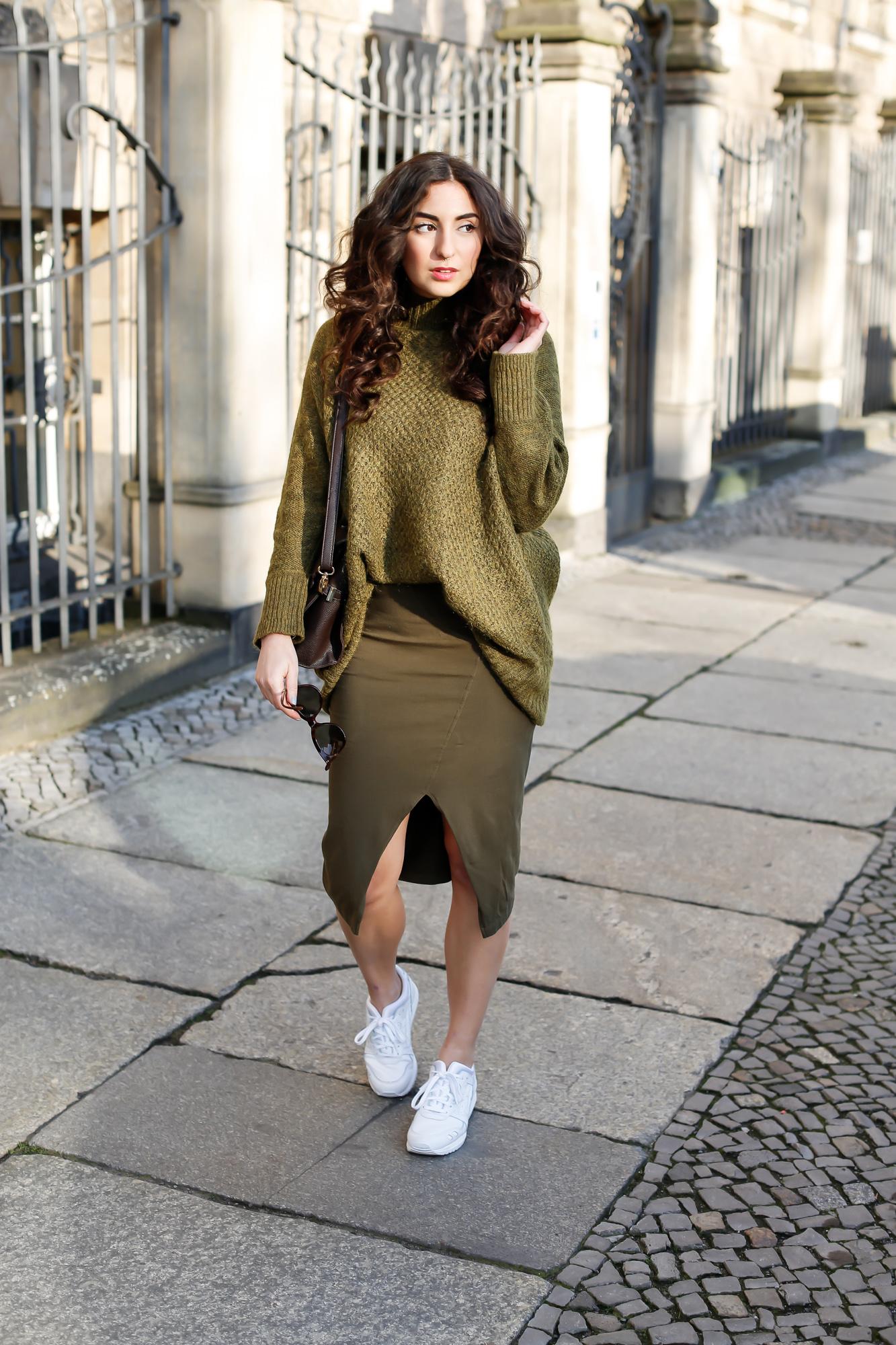 Khaki Co Ord Modeblog Deutschland