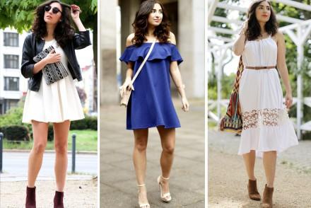 Summer Dresses under 50 shopping inspiration modeblog blogger fashionblogger mango zalando