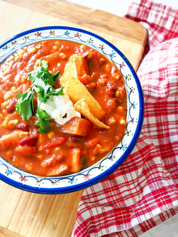 sweet potato chili sin carne recipe vegetarian süßkartoffel mexican texmex party rezept foodblog rezeptblog berlin samieze-2