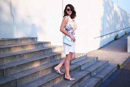 lipsy floral shirt dress summer streetstyle lookbook berlin look fashion blog