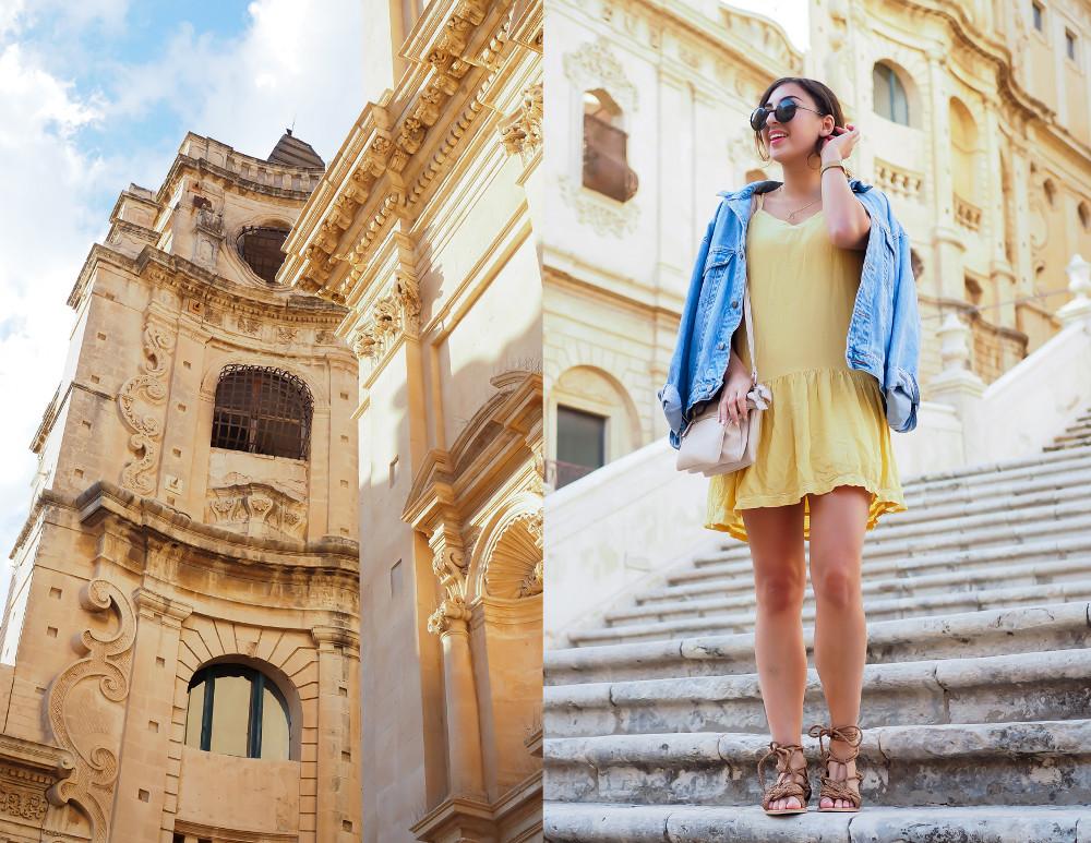 travel diary outs outfitdiary urlaubslooks stylish einpacken sizilien sicily dress sommerkleid jeansjacke urlaubslook kaptn son sunglasses german fashionblog streetstyle blog berlin samieze deutschland-5