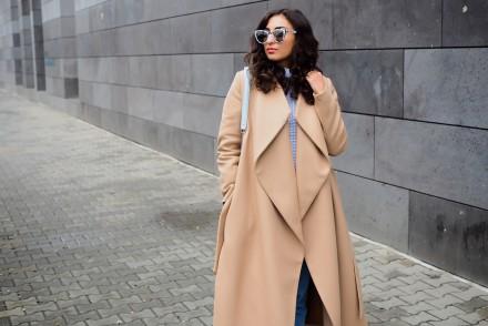 Ivy & Oak Camel Wrap Coat bathrobe wrapcoat maxi mantel beige streetstyle topshop mom jeans asics gel lyte III fashionblog winterlook herbst outfit berlin samieze modeblogger