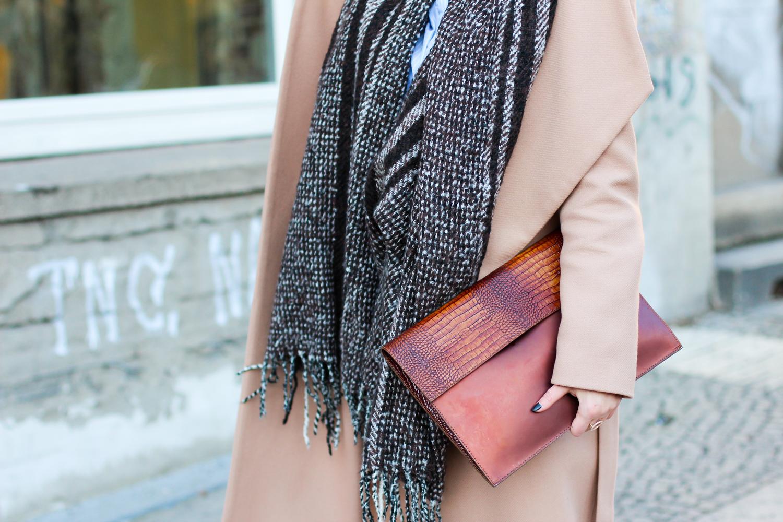 winter fashion week outfit ivy&oak wrap coat camel mantel brauntöne kombinieren leatherpants oasis suede boots berliner mbfwb style streetstyle berlin blogger deutschland modeblog samieze