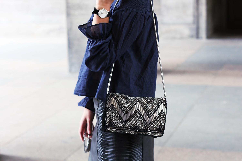 off shoulder leather skirt mini cold shoulder trend 2017 berlin samieze blog fashion streetstyle