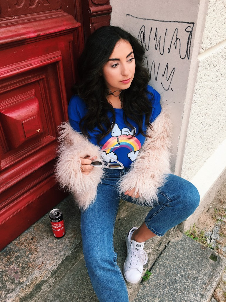 Snoopy Shirt // Casual Autumn Outfit