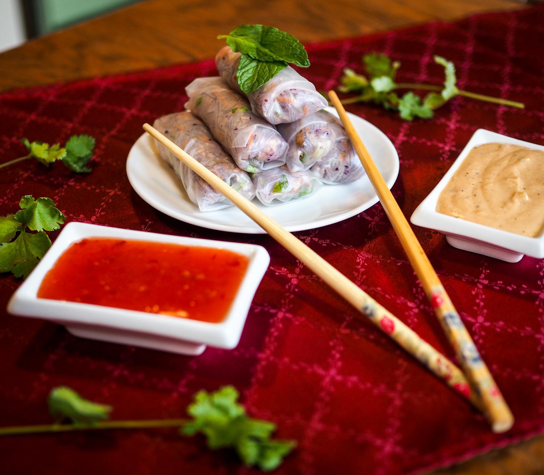 simple spring rolls winterrolls vegetarian smoked tofu räuchertofu snack rezept recipe vegetarian vietnamese summer rolls sommerrollen samieze foodblog_