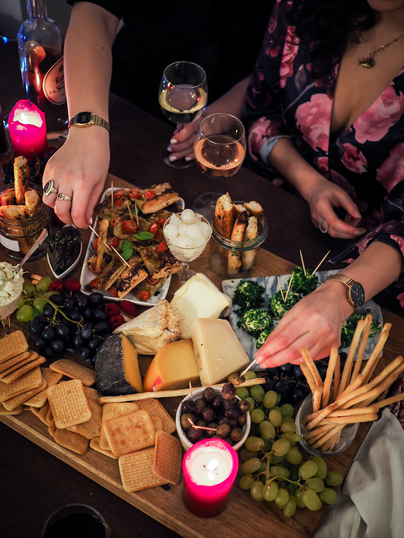 diy wine tasting fingerfood recipes millesima erfahrungen experience wine online shop häppchen gerichte lifestyle blog wein party berlin-