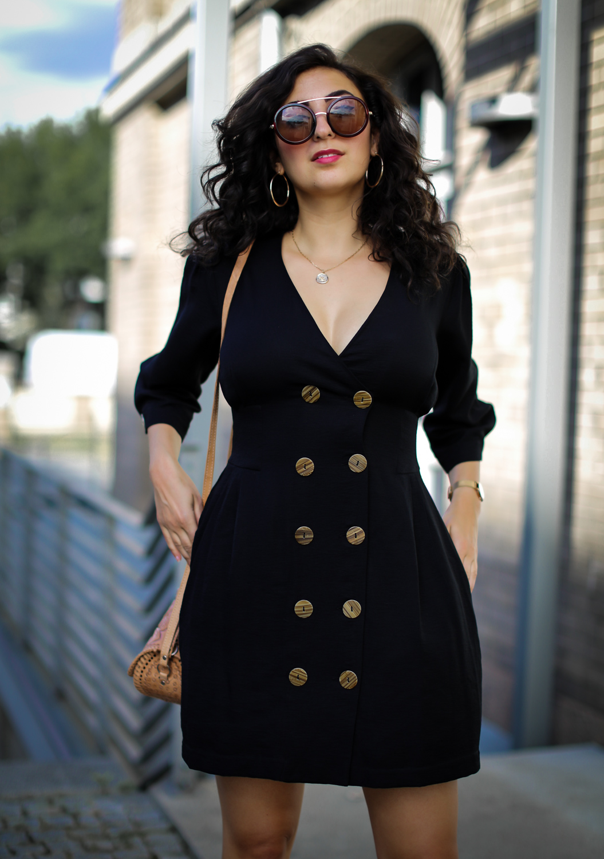 black chiquelle dress boots fall style preppy chic samieze fashionblog modeblog berlin-3