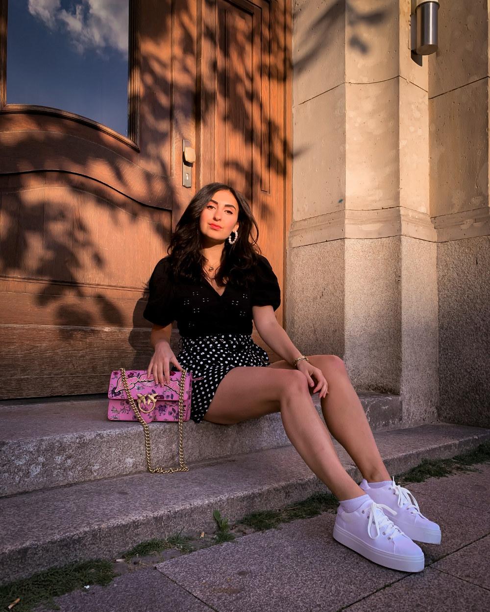 Summer Sneaker Looks Dad Shoes Platform Sporty Looks Midi Dresses